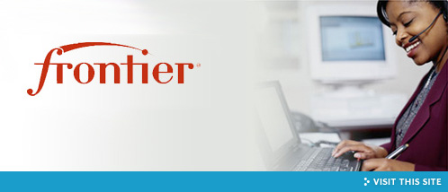 Visit the Frontier Communications site